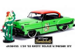 Jada 1/24 '53 Chevy Belair with Poison Ivy Bomb Shells image