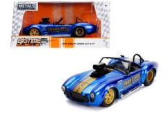 Jada 1/24 Blue '65 Shelby Cobra 427 Big Time Muscle image