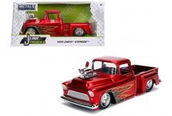 Jada 1/24 '55 Chevy Stepside Candy Red image