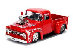 Jada 1/24 '56 Ford F-100 Gloss Red image