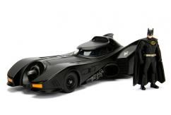 Jada 1/24 1989 Build & Collect Batmobile With Batman Figure image