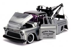 Jada 1/24 '55 Chevy Stepside Tow Truck Kustom Kings 20th Anniversary image