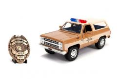 Jada 1/24 Police Chevy Blazer 'Stranger Things' with Badge image