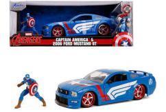 Jada 1/24 2006 Mustang with Captain America image