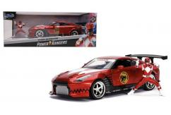 Jada 1/24 2009 Nissan GT-R with Red Ranger image