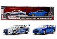 Jada 1/32 Fast & Furious Twin Pack image