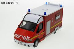 Bburago 1/50 Renault Master Fire Service Vehicle image