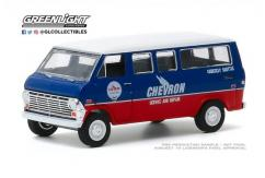 Greenlight 1/64 1970 Ford Club Wagon - Chevron image