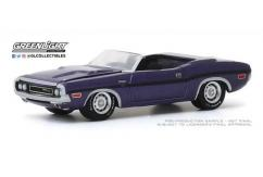Greenlight 1/64 1970 Dodge Challenger R/T Convertible image