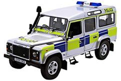 Universal Hobbies 1/18 Land Rover Defender 110 TD5 UK Police image