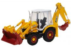 Oxford 1/76 JCB 3CX Eco Backhoe Loader image