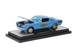 M2 Machines 1/24 1966 Ford Mustang Blue image
