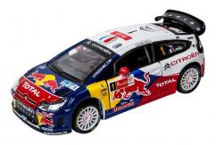 Bburago 1/32 2010 Citroen C4 Racing Total World Rally Team - Loeb image