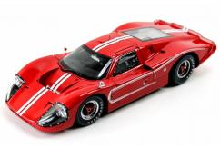 Shelby Collectables 1/18 1967 Ford GT 40 MK IV Red/White image