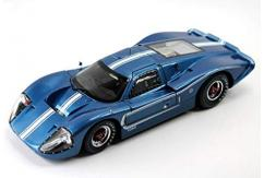 Shelby Collectables 1/18 1967 Ford GT 40 MK IV Blue/White image