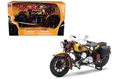 New Ray 1/12 1934 Indian Sport Scout Brown image