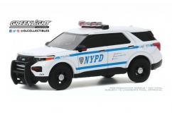 Greenlight 1/64 2020 Ford Police Interceptor Utility - NYPD image