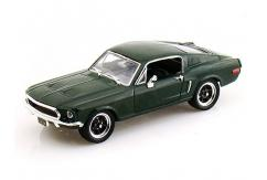 Road Signature 1/43 1968 Ford Mustang GT Green image