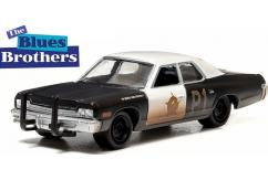 Greenlight 1/64 1974 Dodge Monaco - Blues Brothers image