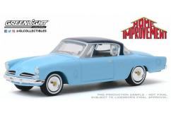 Greenlight Collectibles 1/64 1953 Studebaker Commander Starliner image