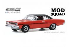Greenlight 1/64 1970 Plymouth GTX - The Mod Squad image