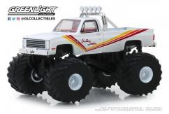 Greenlight 1/64 1981 Chevrolet K20 Monster Truck - Southern Sunshine image