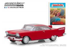 Greenlight 1/64 1957 Plymouth Belvedere - Quinn Quake image