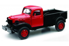 New Ray 1/32 Dodge Power Wagon Red/Black image