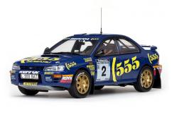 SunStar 1/18 Subaru Impreza 555 #2 Winner 1994 Rally of NZ image