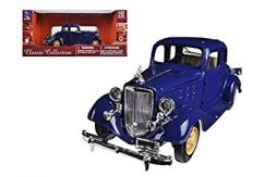 New Ray 1/32 1933 Chevrolet Two Passenger 5 Window Coupe Blue image