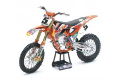 New Ray 1/10 2018 KTM 450 SX-F Orange image