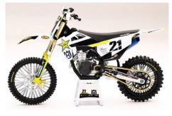 New Ray 1/12 Rockstar Energy Husqvarna Racing Team FC450 2020 (Anderson) image
