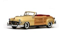 SunStar 1/18 1948 Chrysler Town & Country image