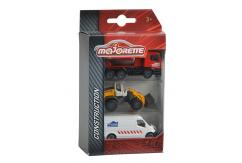 Majorette Construction 3pc Set Construction Series image