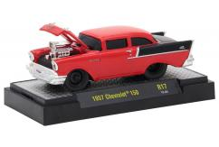M2 Machines 1/64 1957 Chevrolet 150 Red image