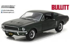 Greenlight Collectibles 1/24 1968 Ford Mustang GT Fastback - Bullitt image