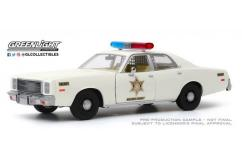 Greenlight 1/24 1977 Plymouth Fury - Hazzard County image
