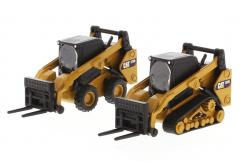 Diecast Masters 1/64 CAT 272D2 & 297D2 Skid Steer Loaders image