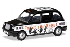 Corgi 1/36 The Beatles London Taxi 'Twist and Shout' image