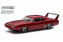 Greenlight Collectables 1/43 1969 Dodge Charger Daytona Maroon image