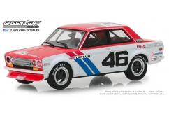 Greenlight Collectibles 1/43 1971 Datsun 510 - #46 Brock Racing Enterprises image