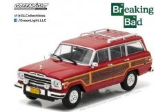 Greenlight 1/43  Jeep Grand Wagoneer Red image