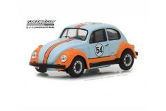 Greenlight 1/43 1966 Volkswagen Beetle - Gulf Oil Racer image