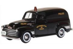 Oxford 1/87 1950 Chevrolet Panel Van - Washington DC Police image