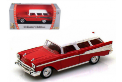 Road Signature 1/43 1957 Chevrolet Nomad Red image