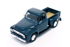 Road Signature 1/43 1953 Ford F-100 Pick Up Dark Blue image