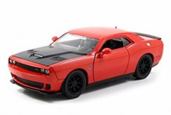 Jada 1/24 Hemi Orange 2015 Dodge Challenger SRT Hellcat image