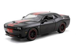 Jada 1/24 Black with red 2015 Dodge Challenger SRT Hellcat image