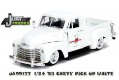Jada 1/24 '53 Chevy Pickup JT White image