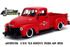Jada 1/24 Red  '53 Chevy Pickup image
